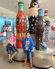Atlanta - Students at World of Coke