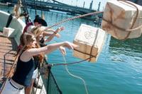 Boston - girls at Tea Party Ships