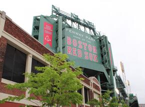 Boston - Fenway Park Sign