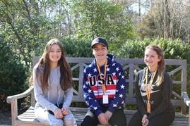Kids on Mt Vernon Bench