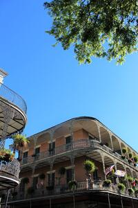 Balconies in the French Quarter
