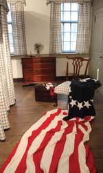 Betsy Ross House Bedroom