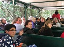 Mackinac Island Group in carriage