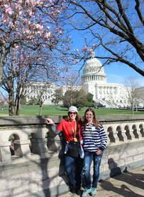 DC - Chaperone & Student at Capitol